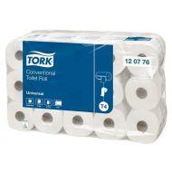 Tork 120776 T4 Toilettenpapier 2-lagig 400 Blatt Universal 30 Rollen weiß
