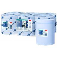 Tork 128208 M2 6x Mehrzweck Papierwischtücher 1-lagig 320m x 20 cm Blau Advanced