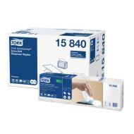 Tork 15840 N4 Xpressnap Spenderserviette 33x21 extra weich weiß 1/4 Falz 4000 Stück Premium