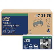 Tork 473178 W4 Küchen Reinigungstücher, 5 x 80 Tücher, 36x43