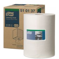 Tork 510137 Reinigungstücher 1 Rolle 152m Weiß 510 W1/W2/W3