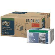 Tork 530150 W8 Extra-Starke Reinigungstücher 530 gefaltet 1-lagig, 32x39, 360 Stück Weiß