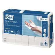 Tork 100289 H2 weiche 21x26 Papierhandtücher Xpress Multifold Premium 2-lagig weiß 3150 St
