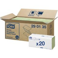 Tork 290135 H3 grüne Papierhandtücher Zickzack Universal 1-lagig 4000 Stück