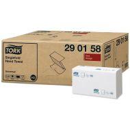 Tork 290158 H3 Papierhandtücher 23x23 ZZ-Falz 1-lagig weiß 4500 Stk